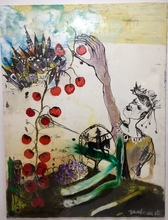 Emmanuelle RENARD - Pintura - La Cueillette
