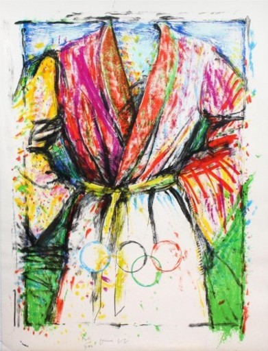 Jim DINE - Print-Multiple - Olympic Robe