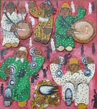 Mohamed TABAL - Painting - sans