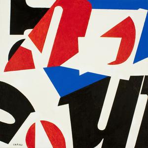 Augusto GARAU - Painting - Senza titolo