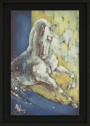 Anne Christine WELLENSTEIN - Peinture - Dans la vague