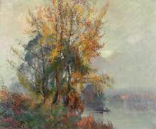 Robert Antoine PINCHON - Pintura - Bord de Seine