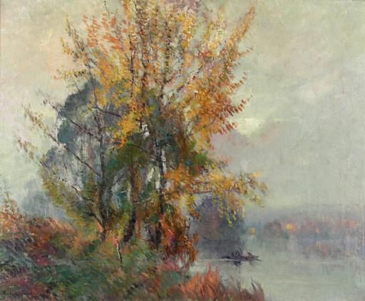 Robert Antoine PINCHON - Pittura - Bord de Seine