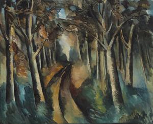 Maurice DE VLAMINCK, Bois à La Jonchère