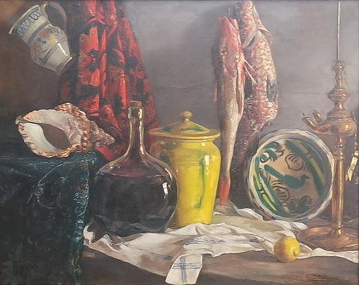 Carlos SOBRINO BUHIGAS - Pintura - BODEGON