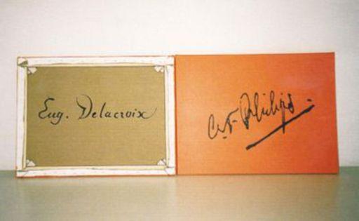 Rob SCHOLTE - Print-Multiple - Signatures, Delacroix – Philips