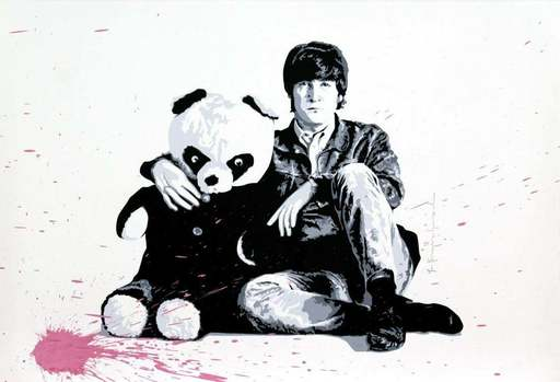 MR BRAINWASH - Druckgrafik-Multiple - All You Need Is Love