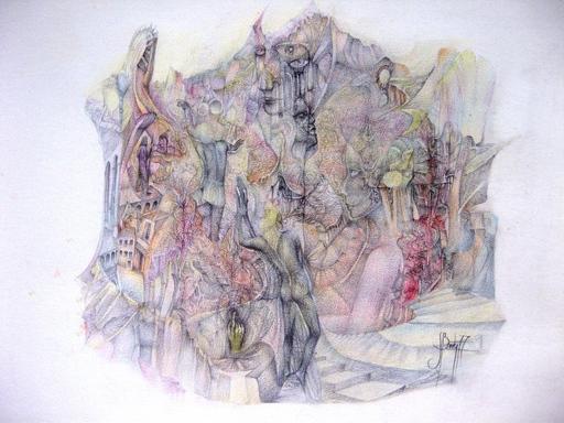 Serge BARTY - Dessin-Aquarelle - EPOPEE FANTASTIQUE