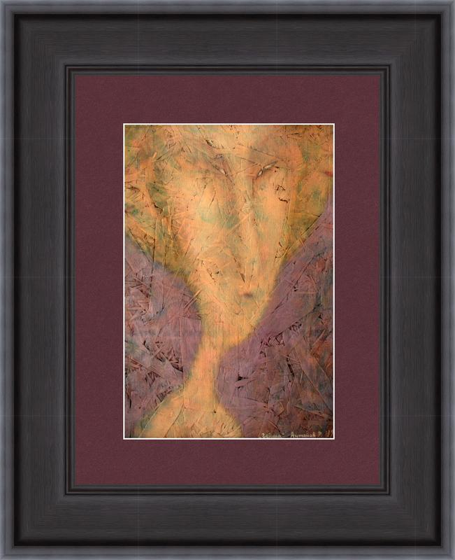 Roman ANTONOV - Gemälde - Geisha # 2