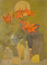 Alexander TOKAREV - Pintura - Lilium tigrinum