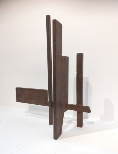 Francesco MARINO DI TEANA - Sculpture-Volume - Diagonale architecturale n°4