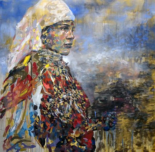 Henri LAMY - Painting - Femme Berbère