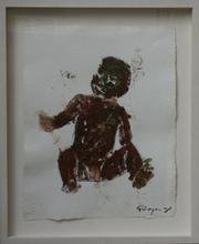 Philippe PASQUA - Pittura - Seated Child