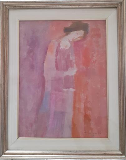Trento LONGARETTI - Pintura - madre in rosa