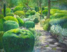 Brigitte THONHAUSER-MERK - Pintura - Gartenidylle