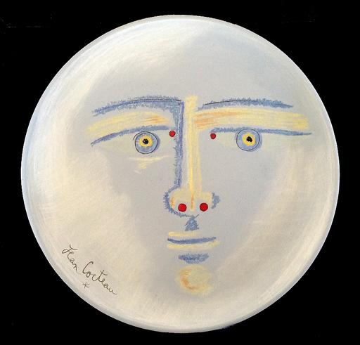 Jean COCTEAU - Ceramiche - Clair de lune