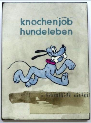 Jan M. PETERSEN - Sculpture-Volume - knochenjob hundeleben