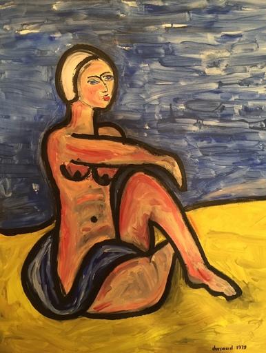 Christian DURIAUD - Pintura - On the beach