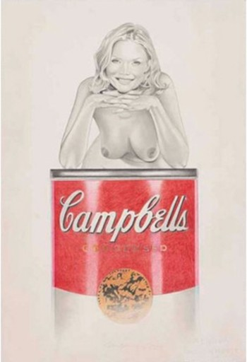 Mel RAMOS - Estampe-Multiple - Campell's Suzy Soup