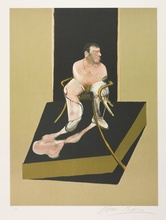 Francis BACON (1909-1992) - Triptych 1986-1987: Study for a portrait of John Edwards (S.