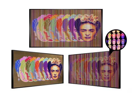 Patrick RUBINSTEIN - Painting - Loca Frida