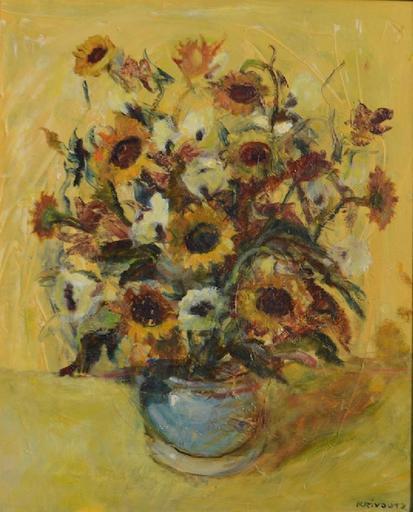 Vladimir KRIVOUTZ - Pittura - Flowers
