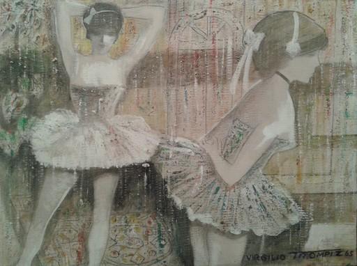 Virgilio TROMPIZ - Pittura - Bailarinas