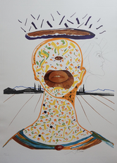 Salvador DALI - Print-Multiple - Imaginations & Objects of The Future Cyclopean Make-Up