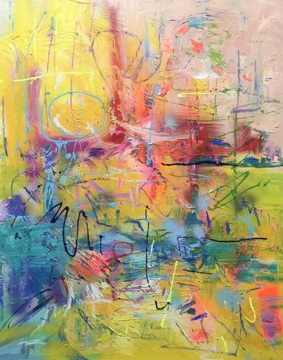 Nicole LEIDENFROST - Gemälde - Abstraktion in der Sonne
