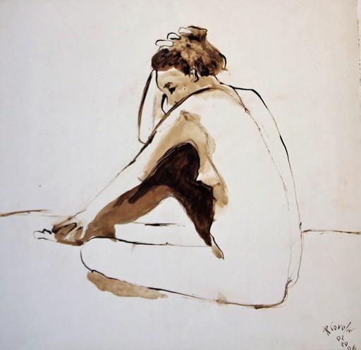 R.CAVALIÉ - Drawing-Watercolor - Juste après... Truphémus