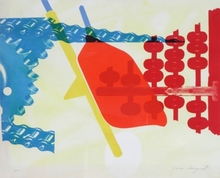 James ROSENQUIST - Print-Multiple - Whipped butter for Eugen Ruchin