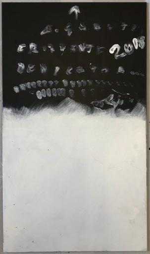 Alberto GARUTTI - Gemälde - Senza titolo opera dedicata a....
