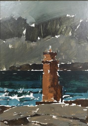 Xoan Manuel GUERREIRO - Pintura - Faro de Muxía