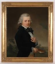"""Johann TISCHBEIN (Attrib.) - Pintura - """"Portrait of a Young Gentleman"""", Oil on Canvas"""