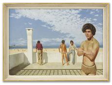 Patrick HENNESSY - Painting - Atlas Beach