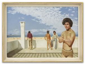 Patrick HENNESSY - Pittura - Atlas Beach