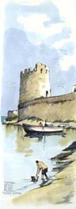 Aldo RISO, Siniscola Torre Santa Lucia (Sardegna)