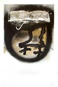 Antoni TAPIES - Print-Multiple - A. L. Exposition Tàpies 1