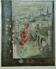 Jacques BLENY - Print-Multiple - Nature morte devant un paysage