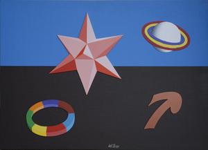 Lucio DEL PEZZO - Painting - Senza titolo