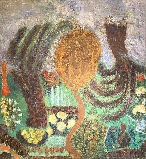 Claudio BACCALA - Gemälde - Ritratto di Lussy