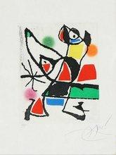 Joan MIRO (1893-1983) - Le marteau sans maître