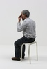 Sean HENRY - Scultura Volume - Untitled (man on a stool)