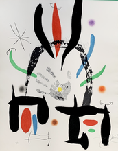 Joan MIRO - Estampe-Multiple - In praise of the hand
