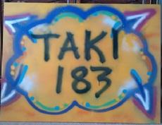 TAKI 183 - Peinture - Yellow Ale Taki