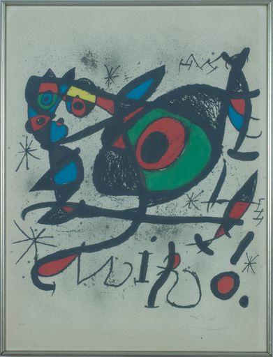 Joan MIRO - Print-Multiple - Sobreteixims I Escultures Exhibition