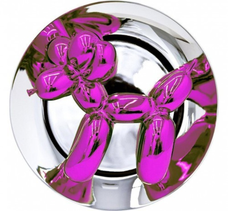 Jeff KOONS - Estampe-Multiple - Balloon Dog (Magenta)