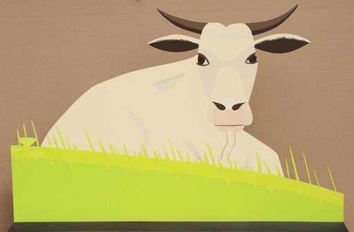 Alex KATZ - Scultura Volume - Maine Cow
