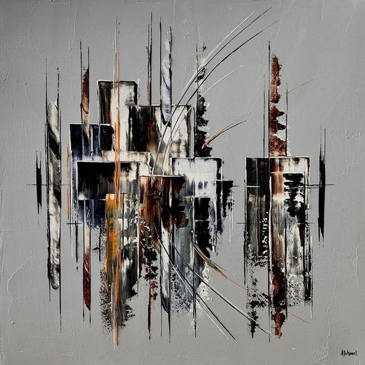 Arnaud DUHAMEL - Pittura - N°I506