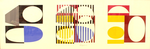 Yaacov AGAM - Stampa-Multiplo - Abstract